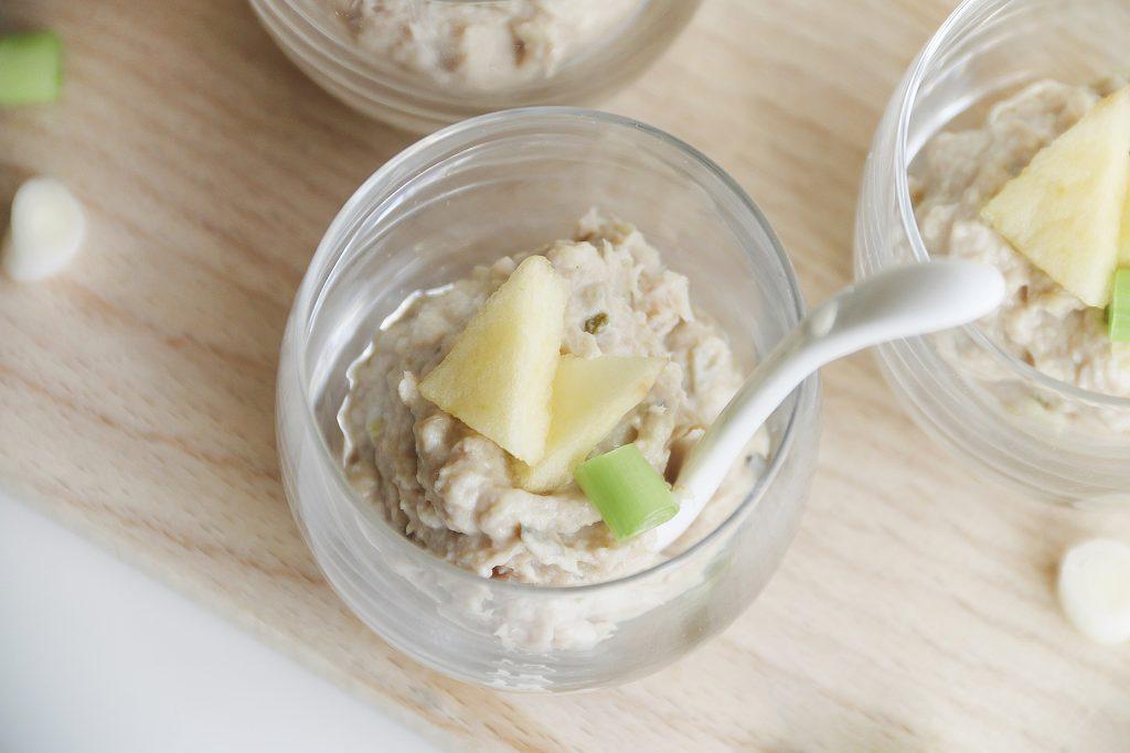 Paashapje: Makreel mousse met appel en lente ui - SUUS KOOKT
