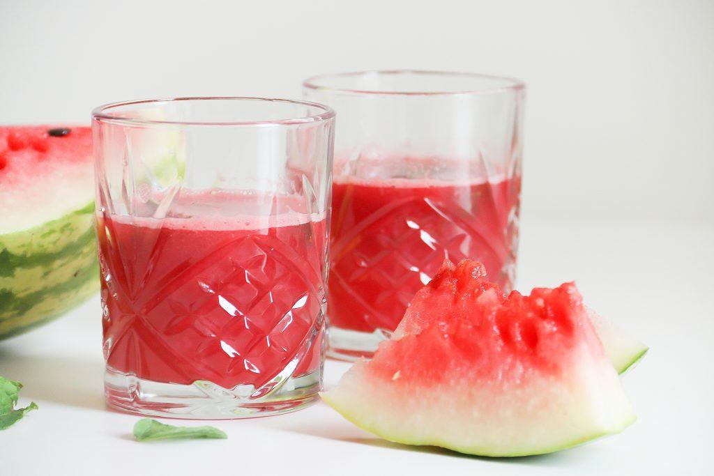 Watermeloen mojito - SUUS KOOKT